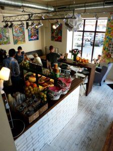 V.2012 Leniviec Coffee Shop, Warsaw