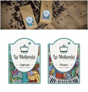 """Collaboration with """"La Molienda"""", the colombian speciality coffee."""